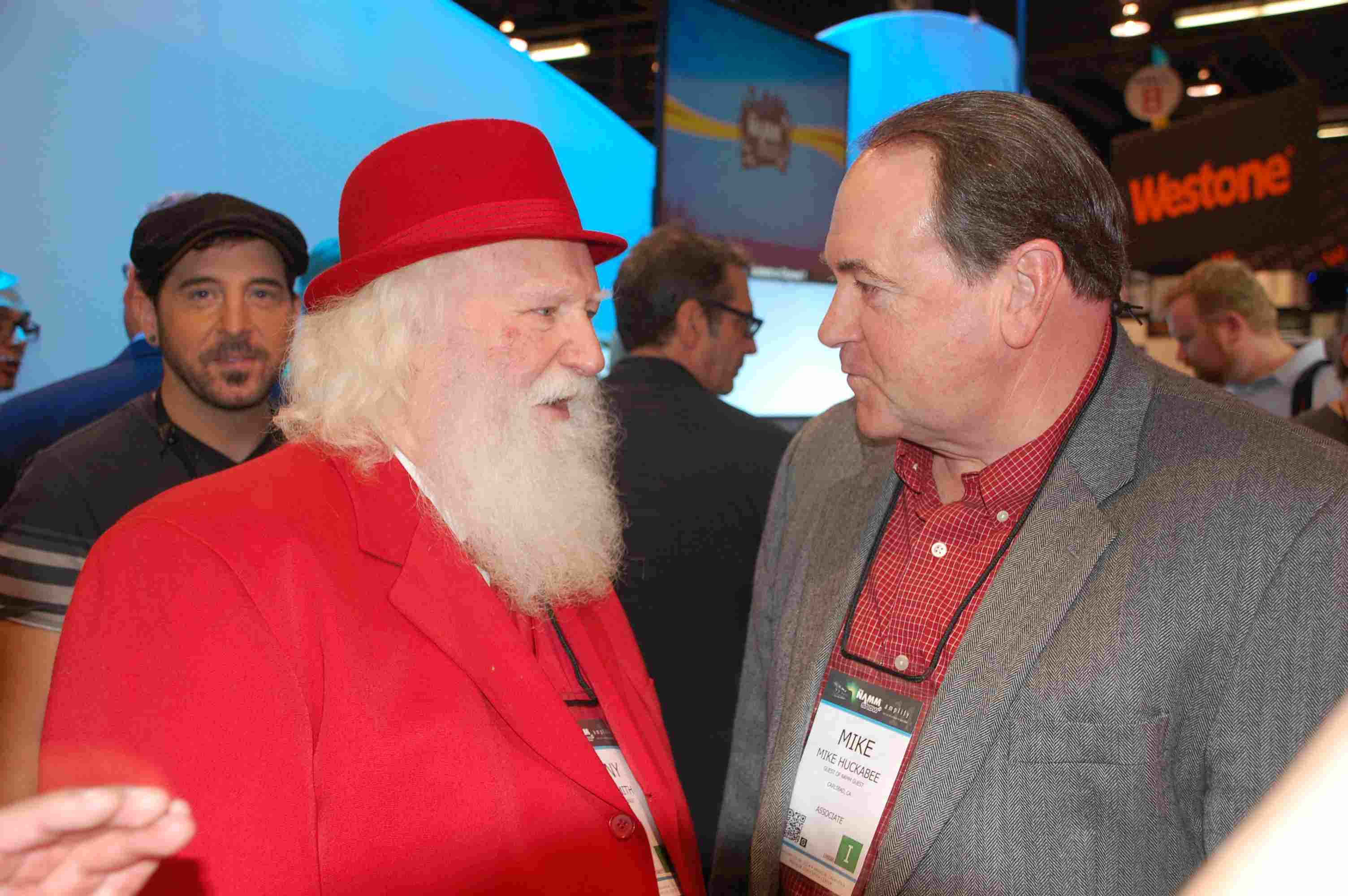 Mike Huckabee And Santa
