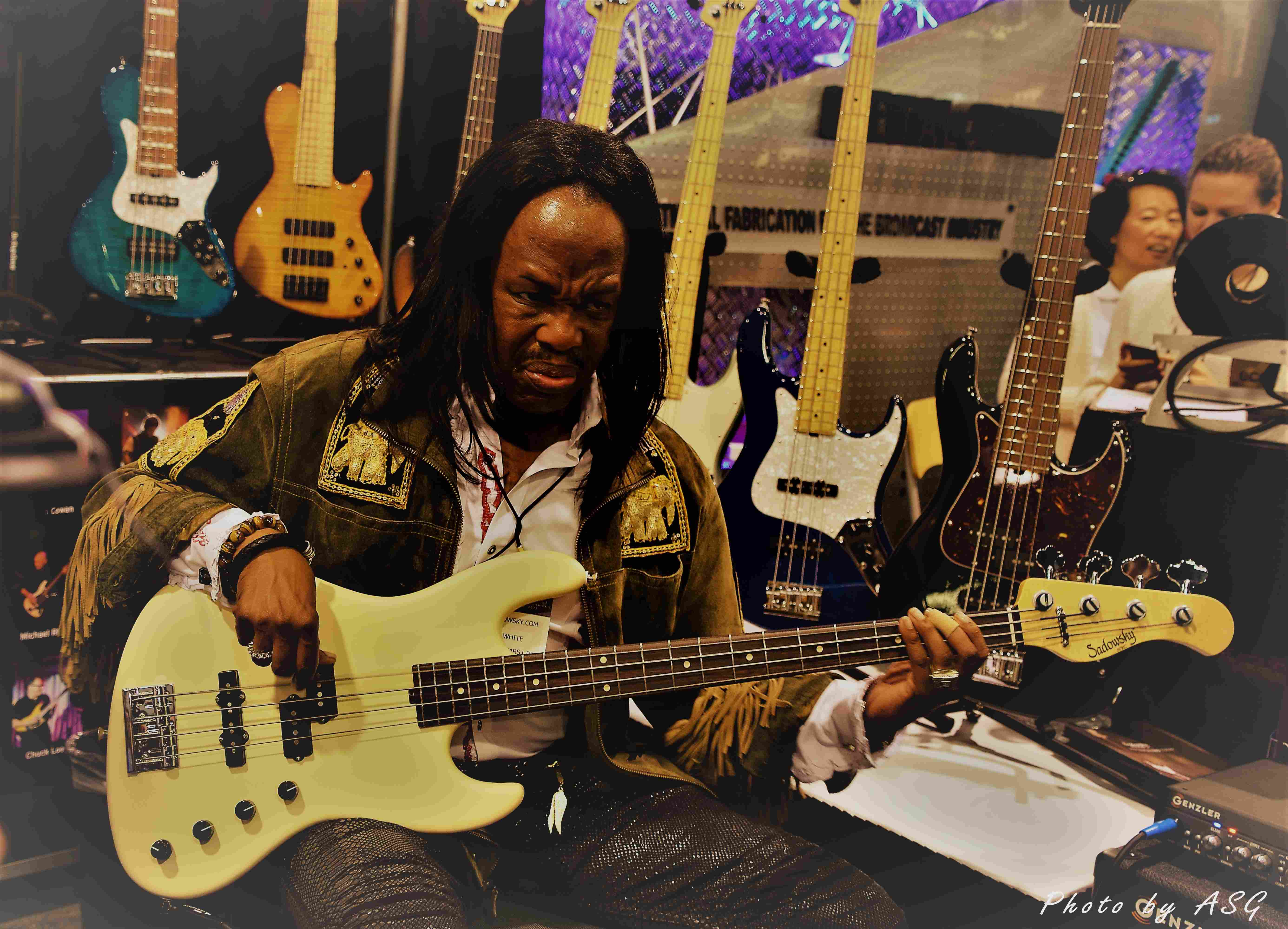 Verdine White (earth, Wind & Fire)